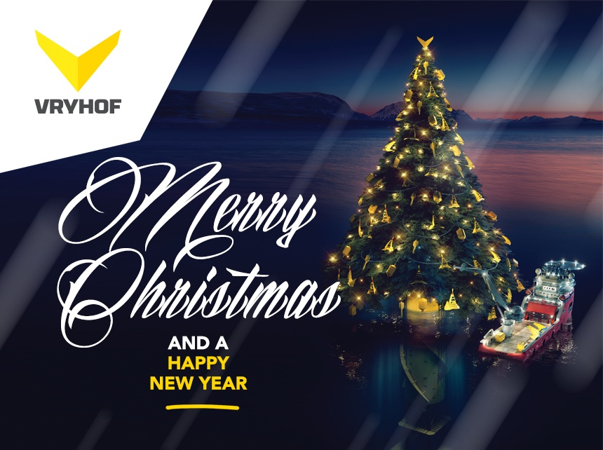 Vryhof Holiday greeting