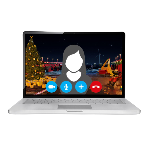Santas Anchor Handling Vessel_Video Meeting Background_Icon